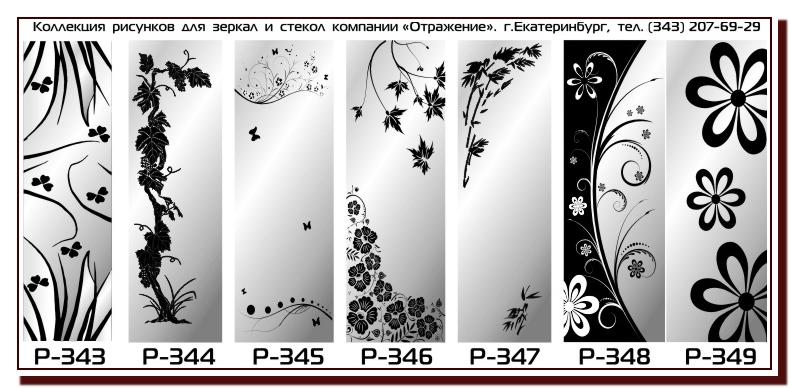 Рисунки на стекле керамике